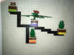 Jardín interior prototipo Lego