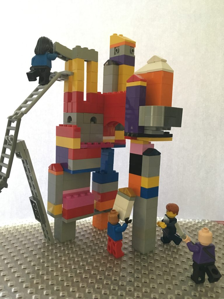 Prototipo de un diseño con Lego