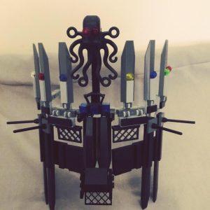 Máscara corona Lego