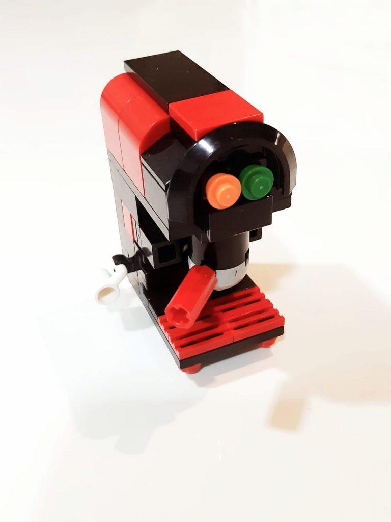 Foto Diseño cafetera Lego Helintelligence